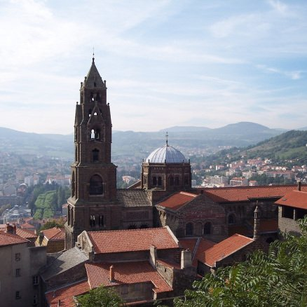 Notre Dame Cathedral in Le Puy