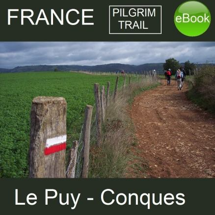 Le Puy to Conques, walking in France - ebooks from Good Walking Books