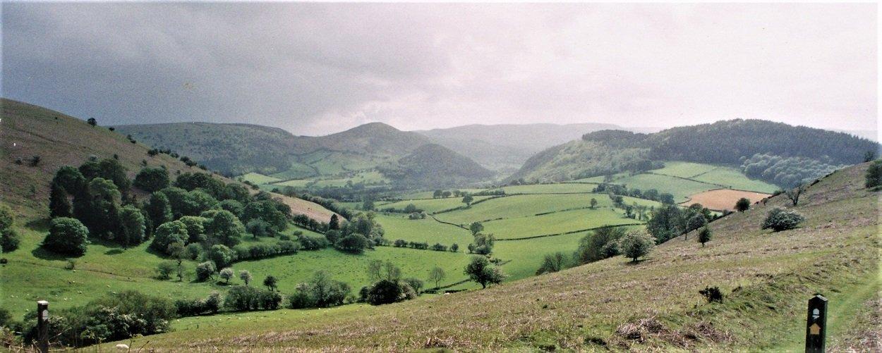 Wonderful Walking through the Welsh countryside