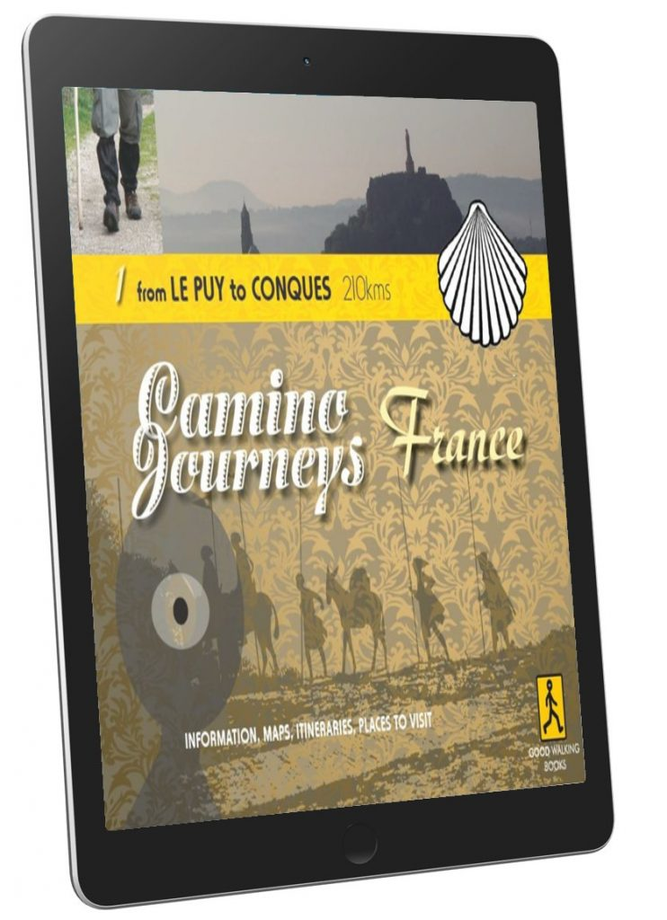 eBook Le Puy to Conques has the full itinerary